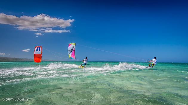 kite en république dominicaine en avril