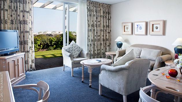 Pendant ce séjour exceptionnel kite et safari, vous êtes logé en hôtel tout confort en Afrique du Sud