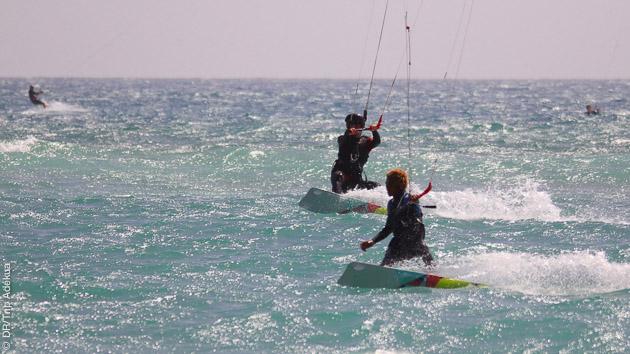 Stage de kitesurf à Sal au Cap Vert