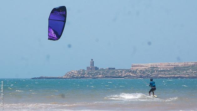 Une semaine de stage de kite avec des moniteurs diplômés dans la baie d'Essaouira