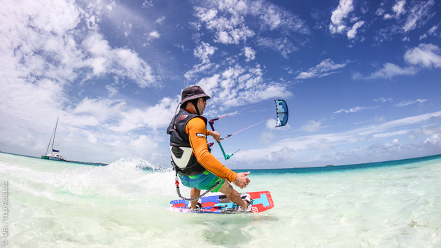 Stage coaching kitesurf all inclusive avec des riders pro au Venezuela