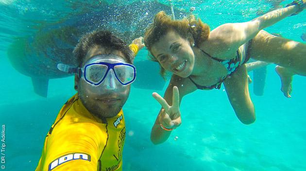 Voyage kitesurf sur les eaux cristallines de los Roques au Vénézuela