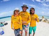 Jours 8, 9, 10 : journées de kite à Cayo Vapor - voyages adékua