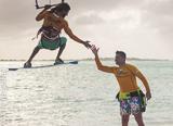 Jours 4,5 et 6 : down wind kite d'île en île - voyages adékua
