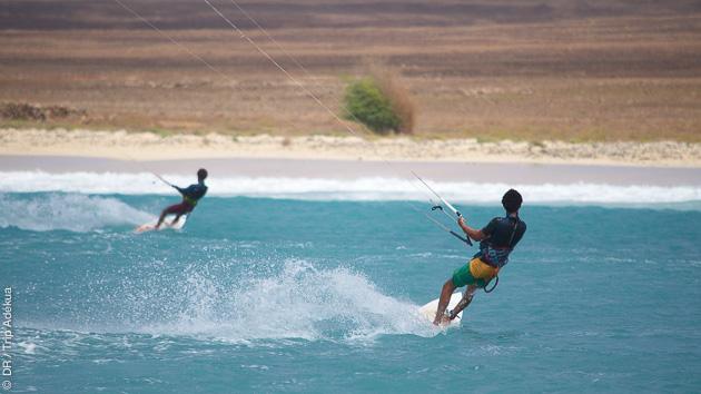 Une semaine pour découvrir le kitesurf à Boa Vista, sur le spot de Sal Rei