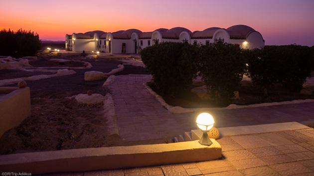 Votre hébergement tout confort sur le spot de Wadi Lahami en mer Rouge