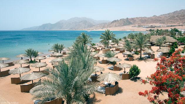 Un hôtel tout confort face au spot de kitesurf de Dahab en Egypte