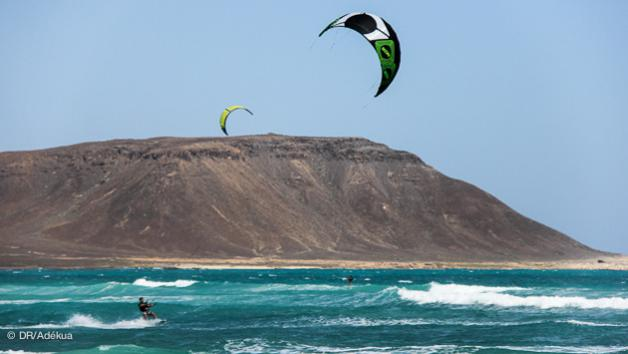 10 h de cours de kitesurf au cap vert pour s'initier
