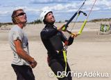 Votre stage d'initiation kite pour 1 adulte et 1 enfant de plus de 12 ans à Palavas - voyages adékua