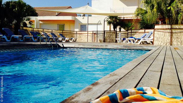 Logés dans un hôtel 3 étoiles, près du port de Palavas pour vos cours de kite