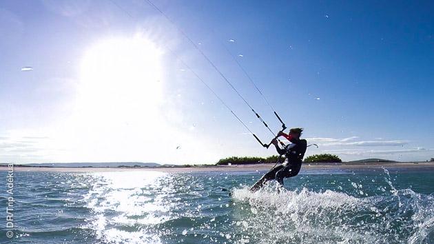 Kite et autres activités nautiques vous attendent pendant ce stage