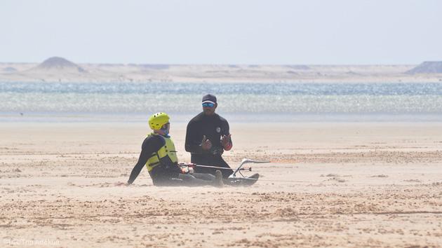 Progressez en kite pednant votre séjour avec cours et matériel