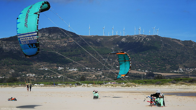 Un séjour kitesurf idéal pour profiter des spots de Tarifa
