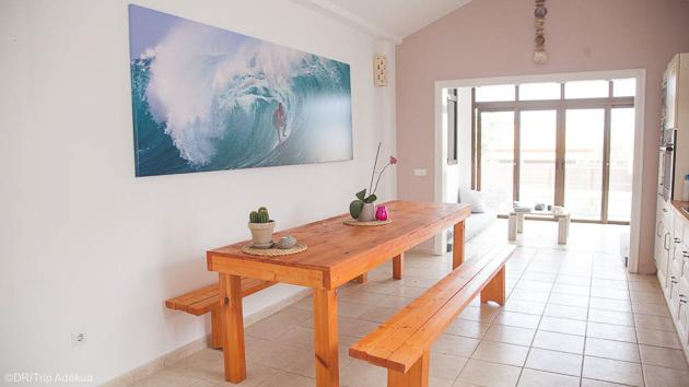 Votre surf camp lumineux et confortable sur l'île de Fuerteventura aux Canaries
