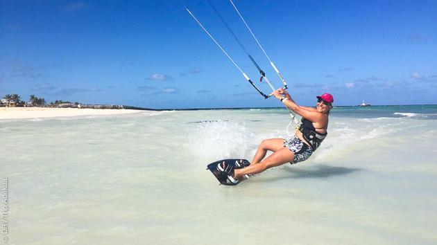 En formule all inclusive, profitez d'un stage 100% kite à Cayo Coco, Cuba