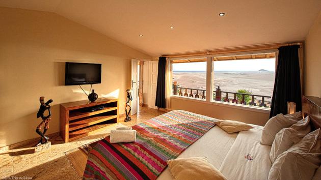 Votre bungalow de luxe face à la lagune de Dakhla au Maroc