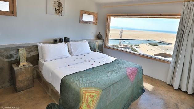 Votre superbes bungalow de luxe face à la lagune de Dakhla