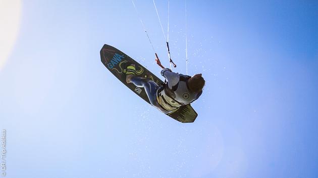 Progressez en kite pendant vos vacances à Dakhla