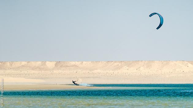 Bungalow cours de kite et pension complète pour ce séjour de rêve à Dakhla