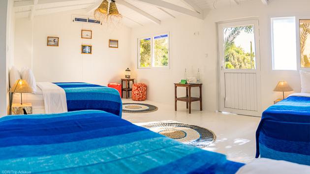 Votre séjour kitesurf en bungalow tout confort face au spot à Dakhla
