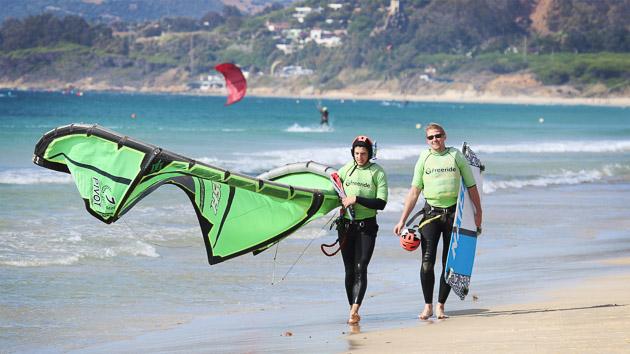 Road trip et cours de kite pour un séjour inoubliable en Espagne