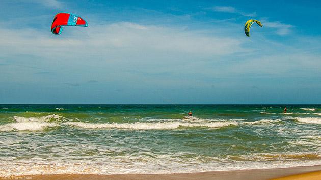 Progressez en kitesurf sur les meilleurs spots de Taiba