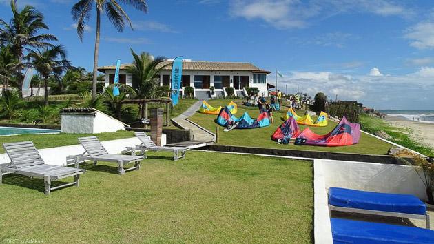 Votre hébergement tout confort pour votre séjour kite au brésil