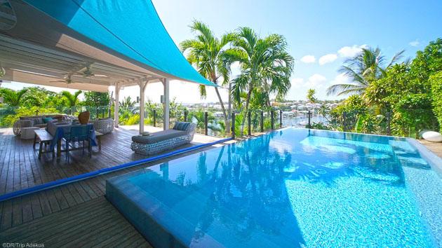 Un séjour kite de rêve avec villa de luxe et stage aux Antilles