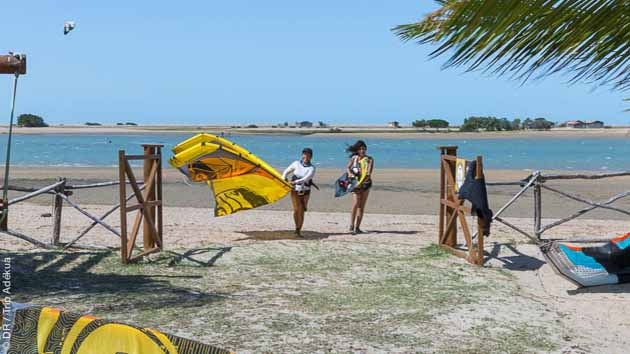Progressez en kitesurf sur les plus beaux spots de Jericoacoara