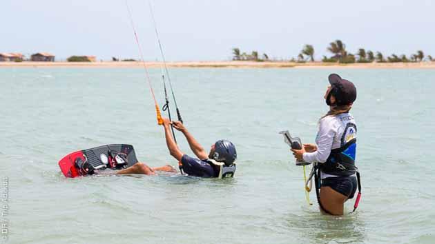 Profitez des cours pour naviguer en kite en toute sécurité au Brésil