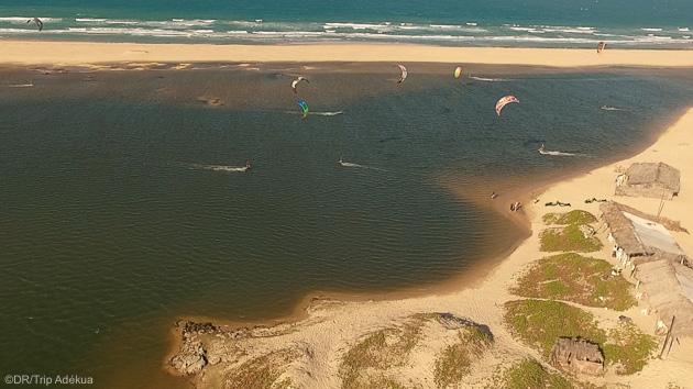 Découvrez les meilleurs spots de kitesurf du Brésil