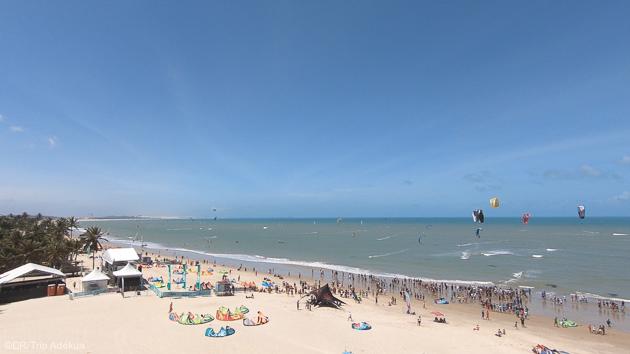 Dea vacances kitesurf de rêve au Brésil avec hébergement en pousada