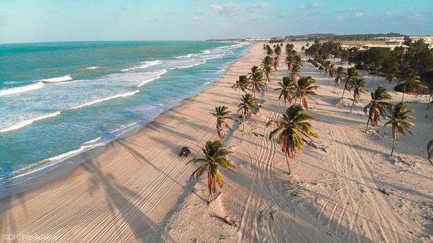 Découvrez les plus bellles plages du Nordeste du Brésil en kitesurf