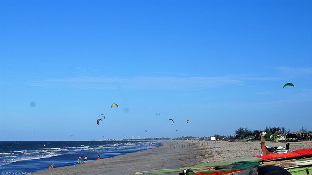Progressez en kitesurf à Préa au Brésil