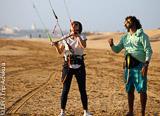 Progresser en kite à Essaouira au Maroc - voyages adékua