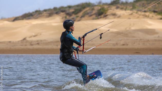 cours de kite au Maroc