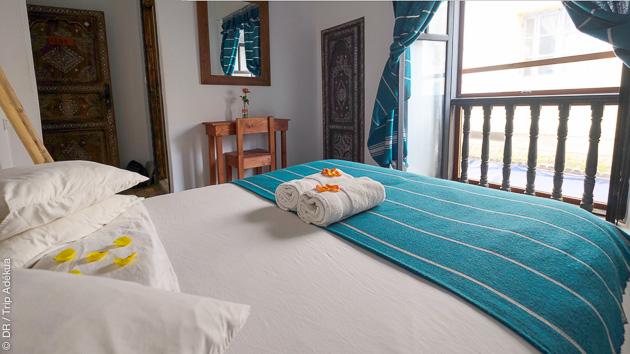 Votre hôtel tout confort à quelques minutes de la place d'Essaouira pendant votre stage de kite
