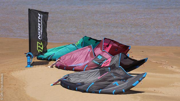 Découverte du kite avec moniteurs et équipement à Essaouira