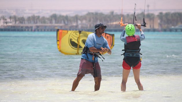 Des cours de kitesurf parfaits pour progresser pendant votre séjour en Egypte