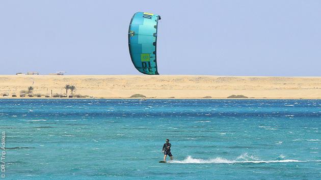 Un séjour de rêve pour progresser en kitesurf en Egypte