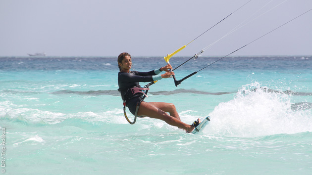Progressez en kite sur les meilleurs spots de Soma Bay en Egypte