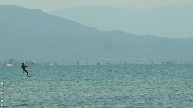 Stage de kite foil sur le Delta de l'Ebre en Espagne