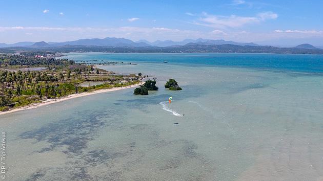 Venez progresser en kitesurf sur l'île de Sulawesi en Indonésie