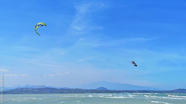 Hébergement tout confort et cours de kitesurf en Indonésie