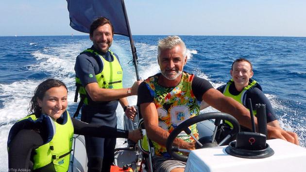 Progresser en kite pendant votre séjour à Marseille