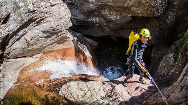 Canyoning à la découverte rivières de Corse