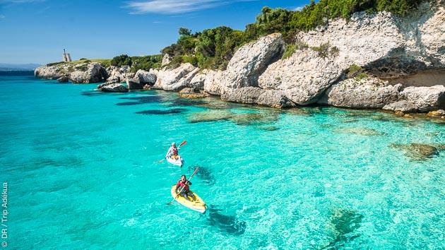Kayak de mer à la découverte des plus belles plages de Corse