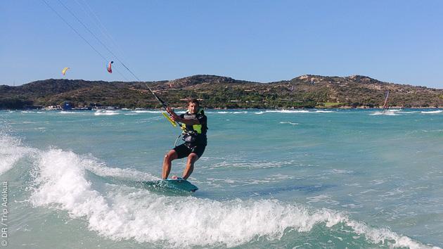votre stage de kitesurf pour progresser sur l'île de beauté