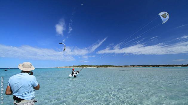 Naviguez en kitesurf sur les meilleurs spots de Corse