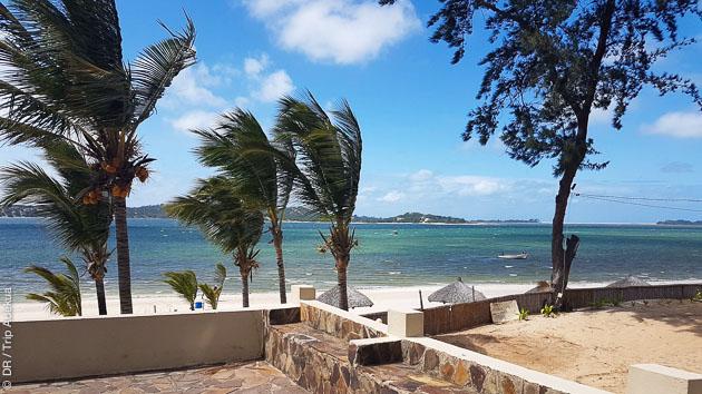 Votre hébergement sur une plage paradisiaque au Mozambique